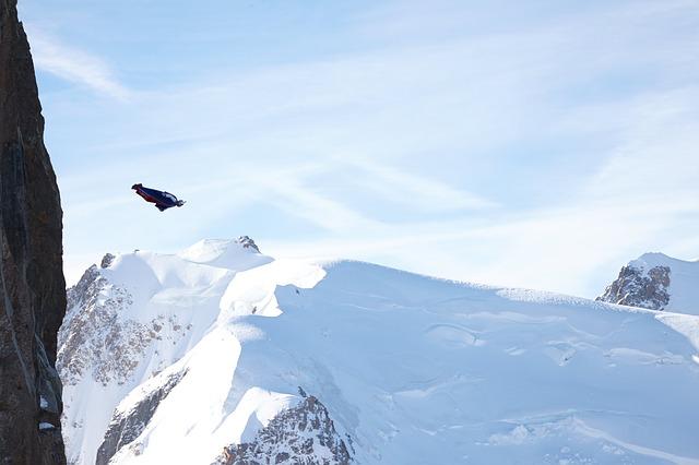 skok z hory