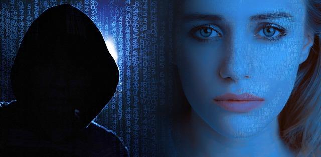 hacker a žena